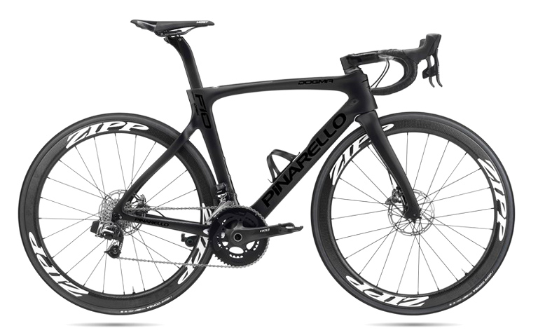 AW19 BIKE1 PINARELLO F10 DOGMA BLACK ON BLACK