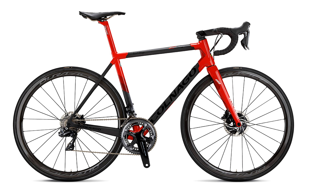 AW19 BIKE1 COLNAGO VELO C64 PJRD RED