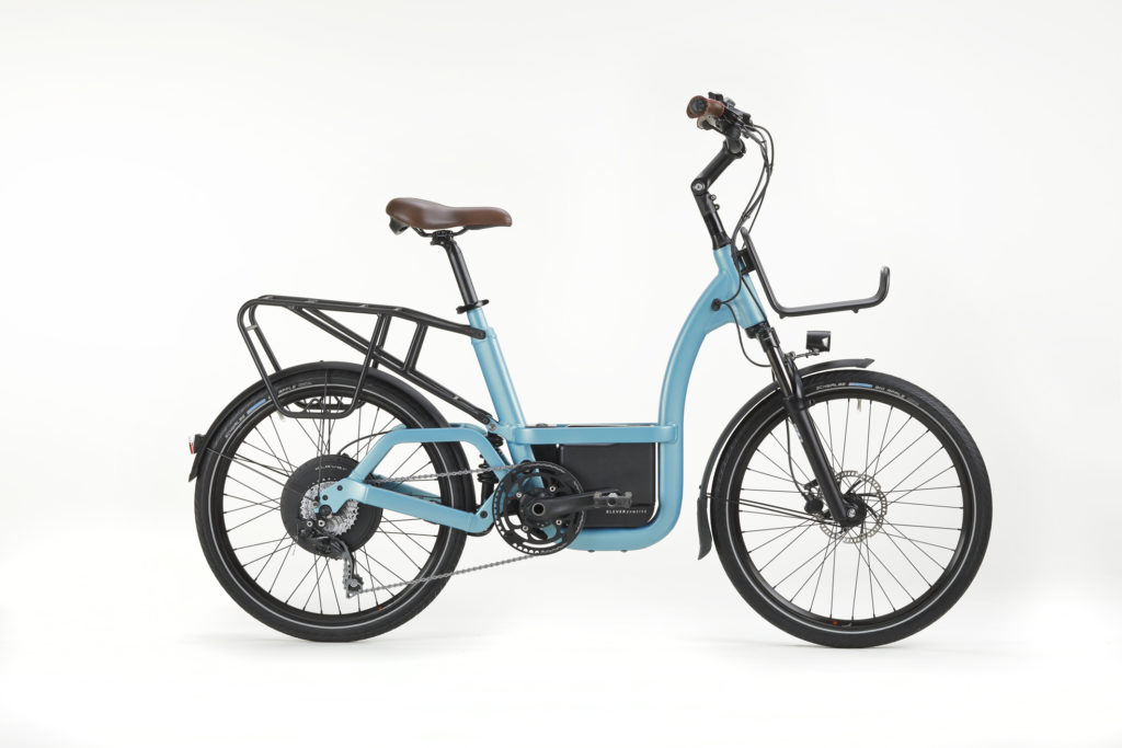 BIKE1 KLEVER SS19 ELECTRIC E-BIKE B_comfort_cyan_rack_01