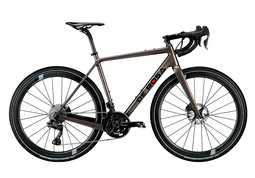 AW20 BIKE1 MAGASIN DE VELO GENEVE DE ROSA BIKE GRAVEL_CIOCCOLATO_LUCIDO