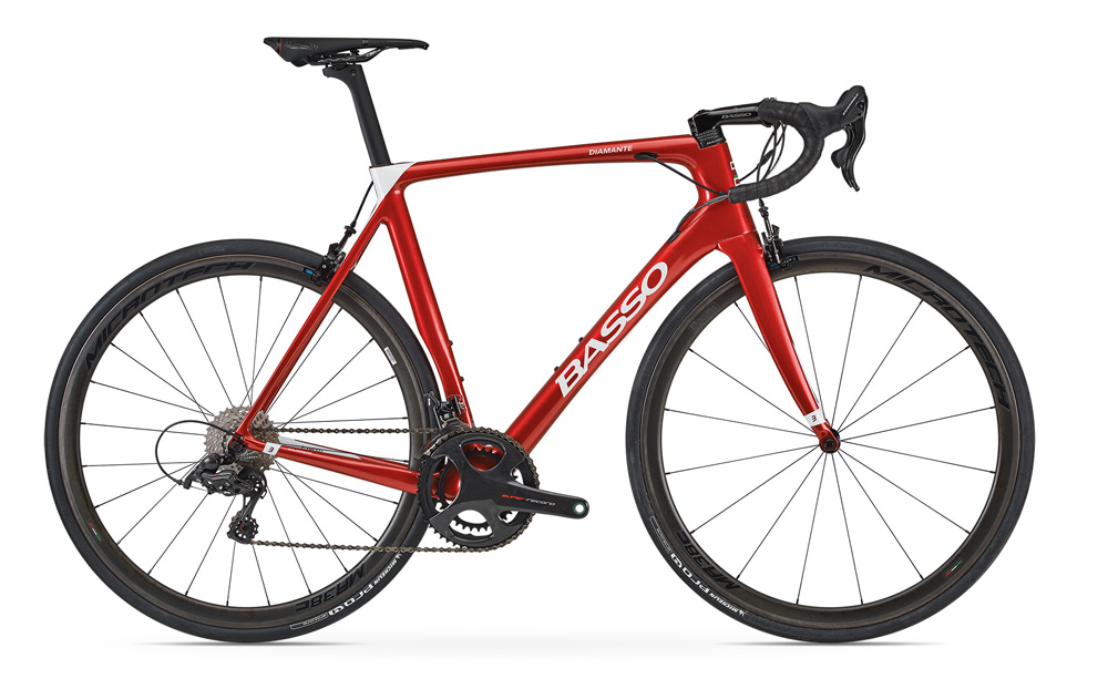 BIKE1 BASSO VELO DIAMANTE RED RIM